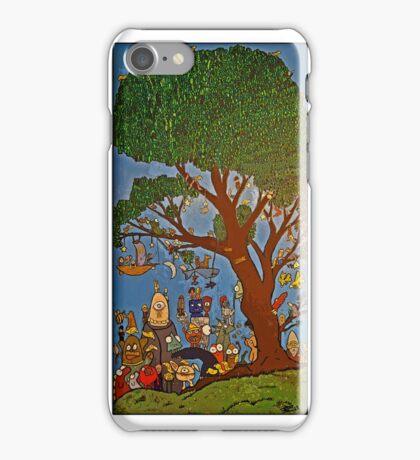 Picnic under Tree iPhone Case/Skin