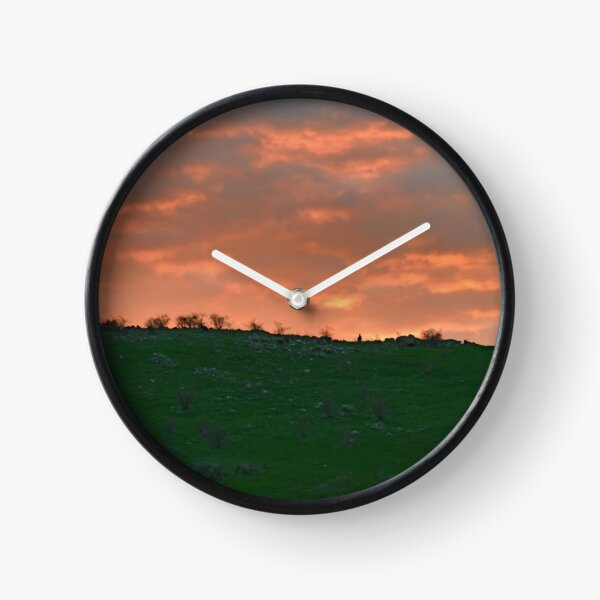 sunset roo Clock