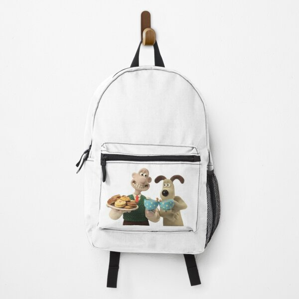 Wallace and Gromit drinking tea Backpack
