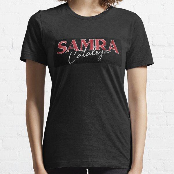 Samra Cataleya merchandise logo black Essential T-Shirt