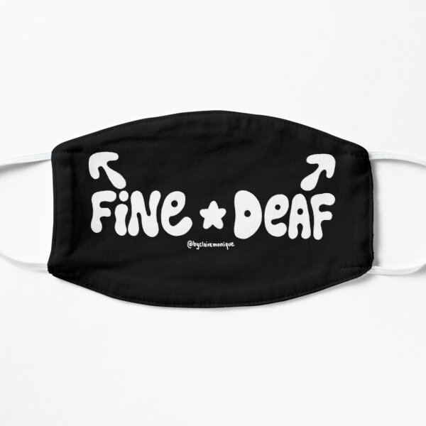 Left Sided Deafness Fine/Deaf Mask