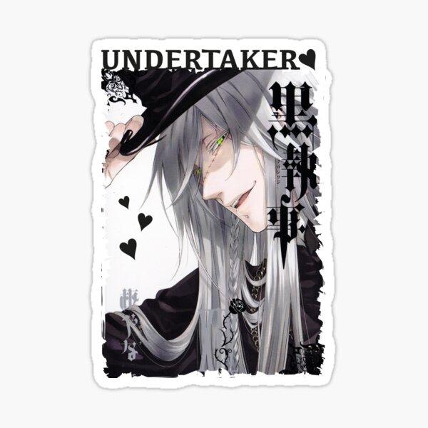 Undertaker Black Butler Sticker