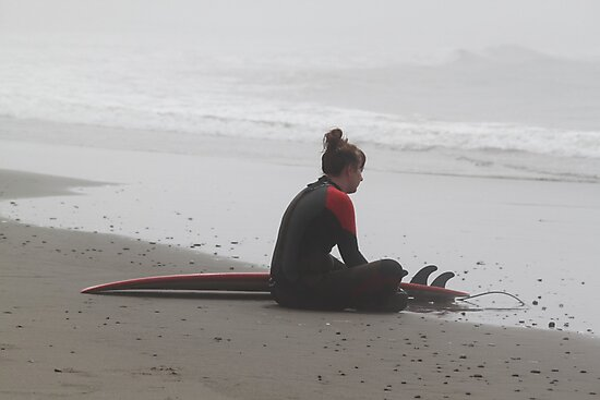 Surfer in the Cold by Molly Quinn