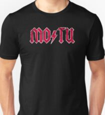 MO/TU distressed T-Shirt