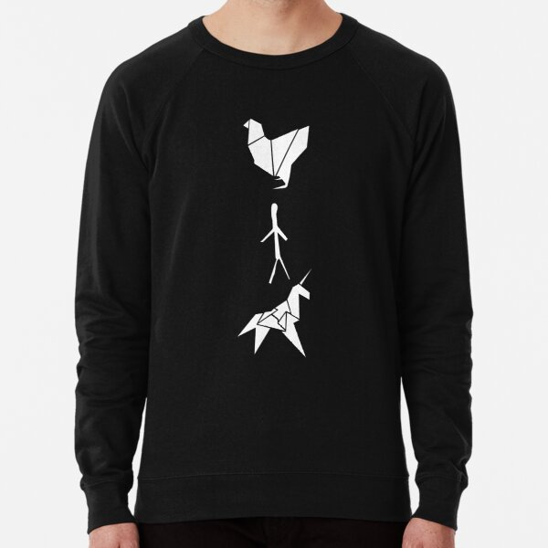 Blade Runner - Origami (Dark) Lightweight Sweatshirt