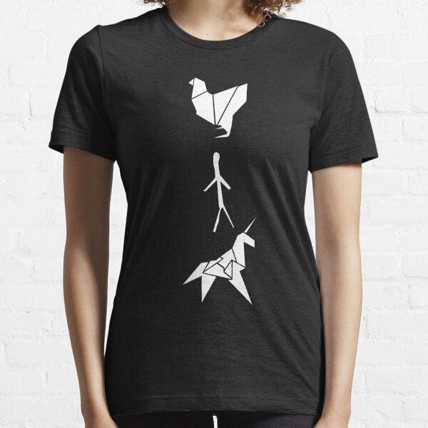 Blade Runner - Origami (Dark) Essential T-Shirt