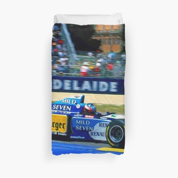 Michael Schumacher compitiendo con el Benetton Renault en Adelaide Funda nórdica
