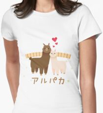 Alpaca Women's Fitted T-Shirt