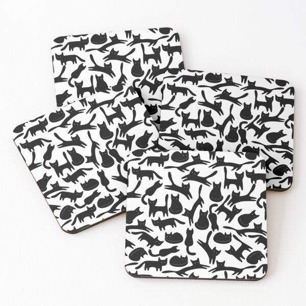 Alot Ocelot Cats Coasters (Set of 4)