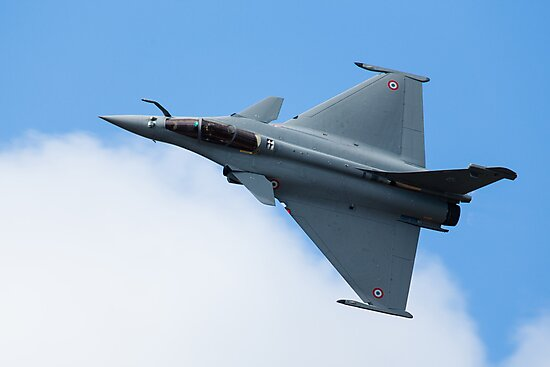 Dassault Rafale C of the French Air Force by Simon Hills