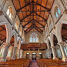St Mary's Catholic Church, Warwick by William Bullimore