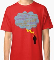 life makes ECHOES. (stick boy.) Classic T-Shirt