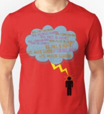 life makes ECHOES. (stick boy.) T-Shirt