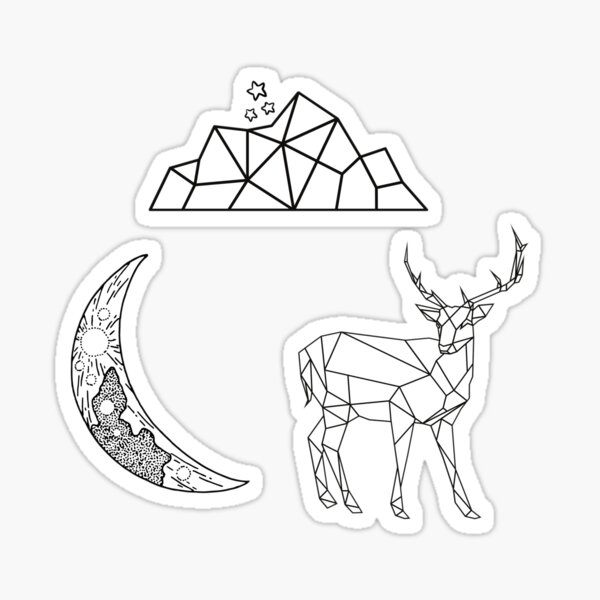 Sarah J Maas Worlds Pack Sticker
