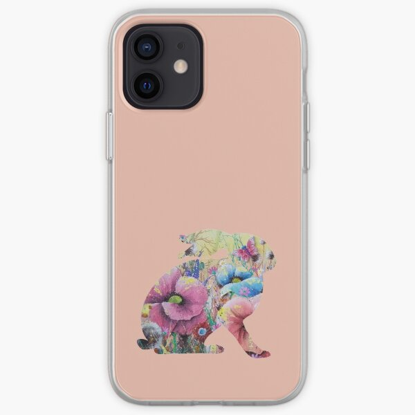 Hare Silhouette iPhone Soft Case