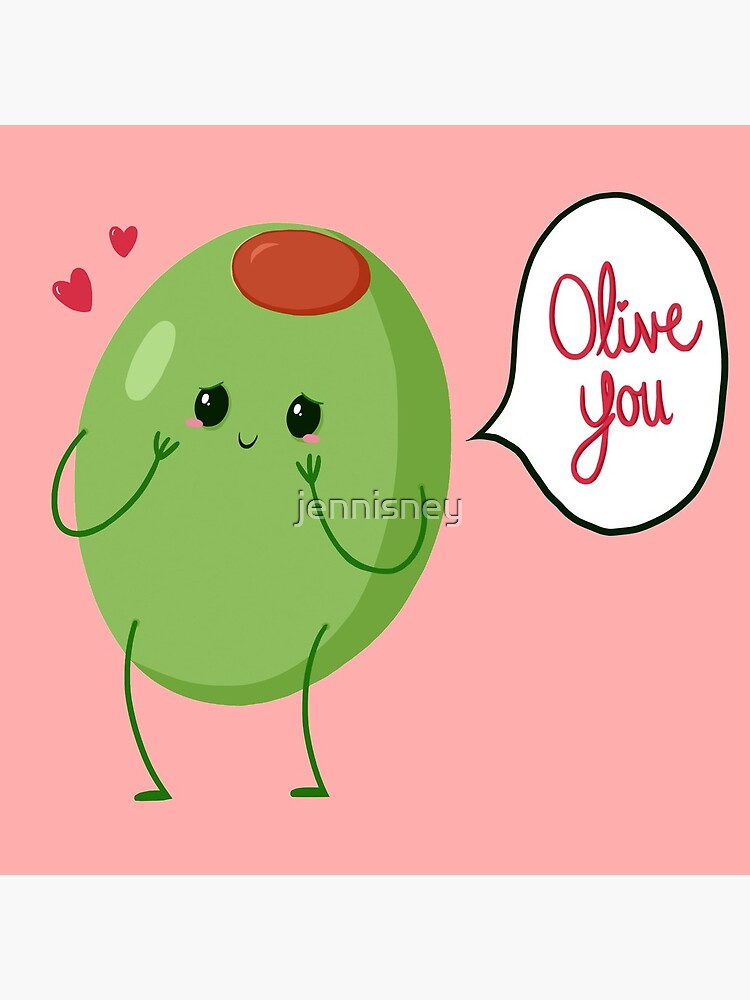 Olive you! #digistickie by jennisney