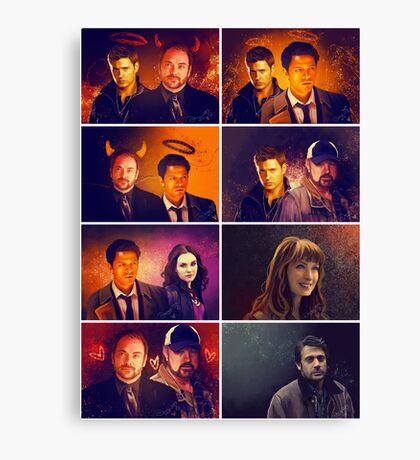 Supernatural - Card/Poster 001 Canvas Print