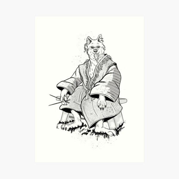 Inugami Kunstdruck