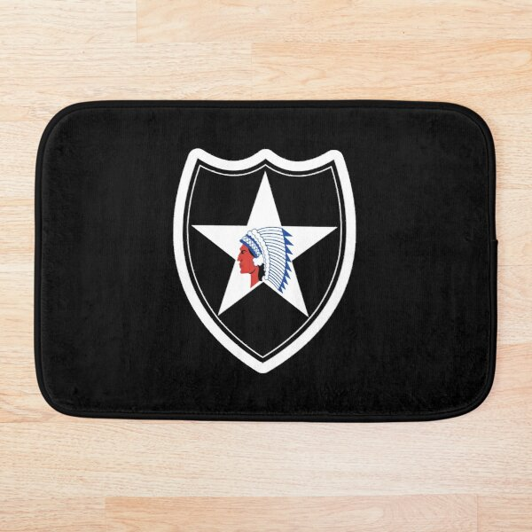 2nd Infantry Division Second To None Bath Mat