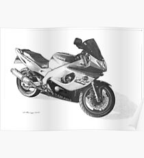 Yamaha YZF600R Thundercat Poster
