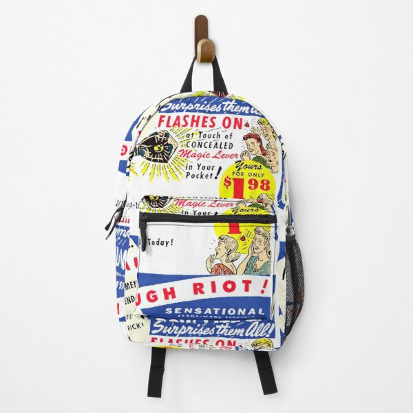 FLASHING BOW-TIE NOVELTY ADVERT Backpack
