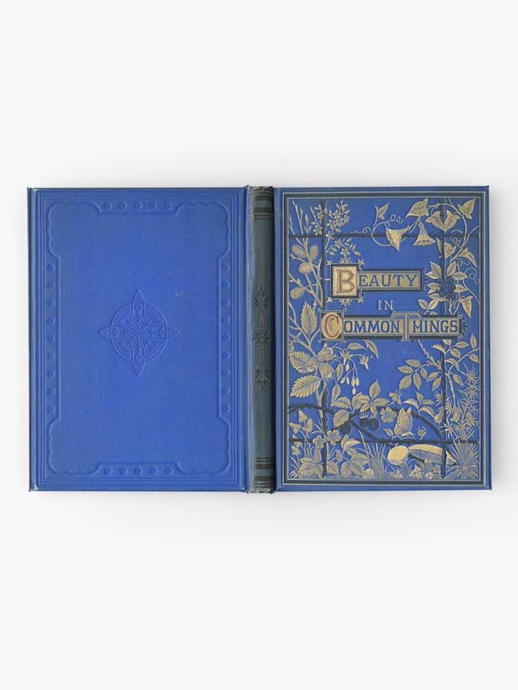 Alternate view of Vintage Journal / Spellbook, Beauty in Common Things Hardcover Journal