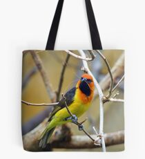 Black-Necked Weaver Tote Bag