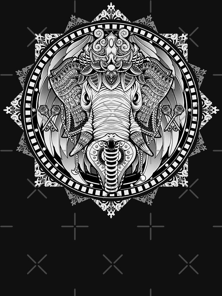 Elephant Medallion by GODZILLARGE