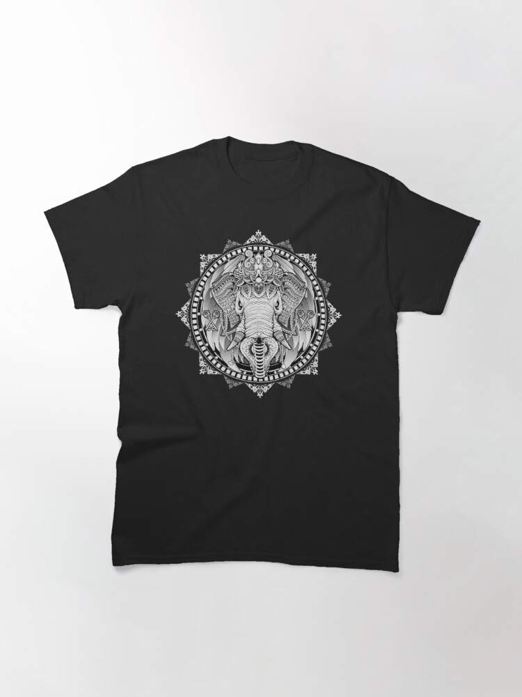 Alternate view of Elephant Medallion Classic T-Shirt