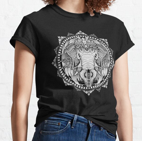 Elephant Medallion Classic T-Shirt