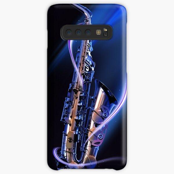 Blue Saxophone Samsung Galaxy Snap Case