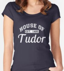House of Tudor Women's Fitted Scoop T-Shirt