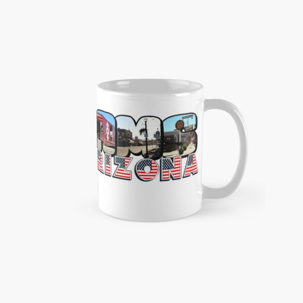 Williams Arizona Big Letter Classic Mug