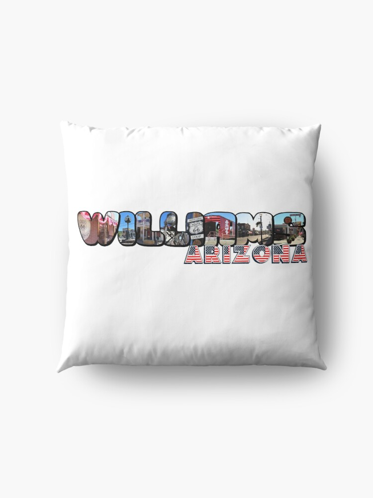 Alternate view of Williams Arizona Big Letter Floor Pillow