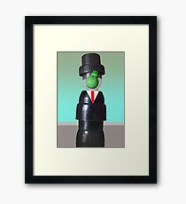 Son of man Framed Print