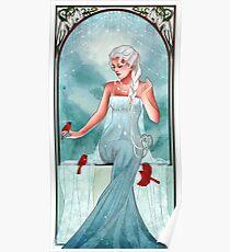 Póster Reina de hielo y nieve