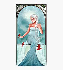 Queen of Ice and Snow Photographic Print