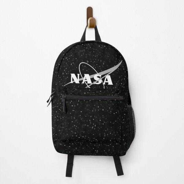 NASA Black and White Backpack