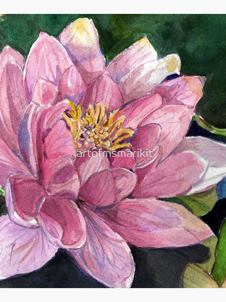 Water Lily by artofmsmarikit
