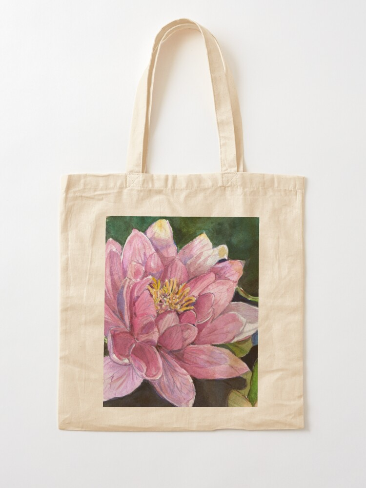 Alternate view of Water Lily Tote Bag