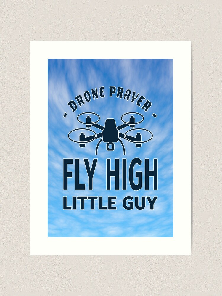 Alternate view of Drone Prayer. Art Print