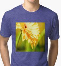 Bright Sunny Yellow Flower Tri-blend T-Shirt
