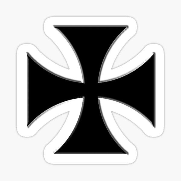 Iron Cross. German, Germany, Military, Decoration, Medal, Honor, Biker symbol, Gangs. Sticker