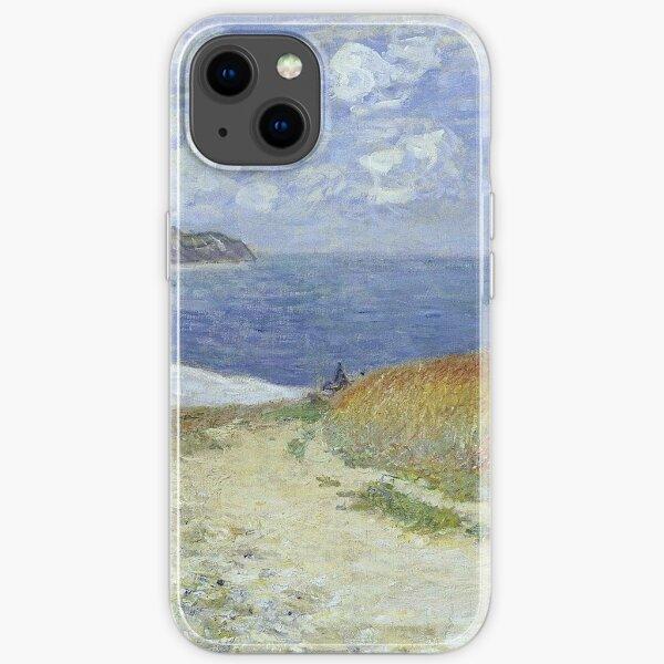Claude Monet - The Passage To The Sea Near Pourville, 1882 iPhone Soft Case