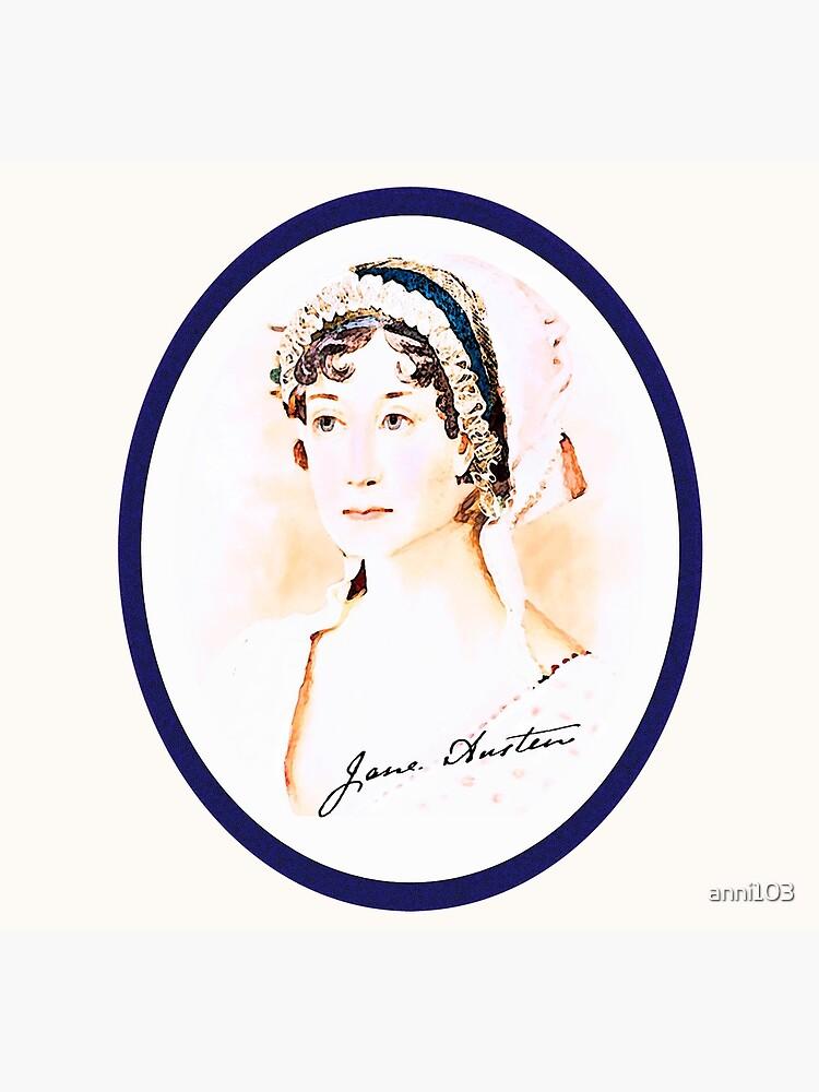 Portrait of a Lady Writer - Jane Austen by anni103