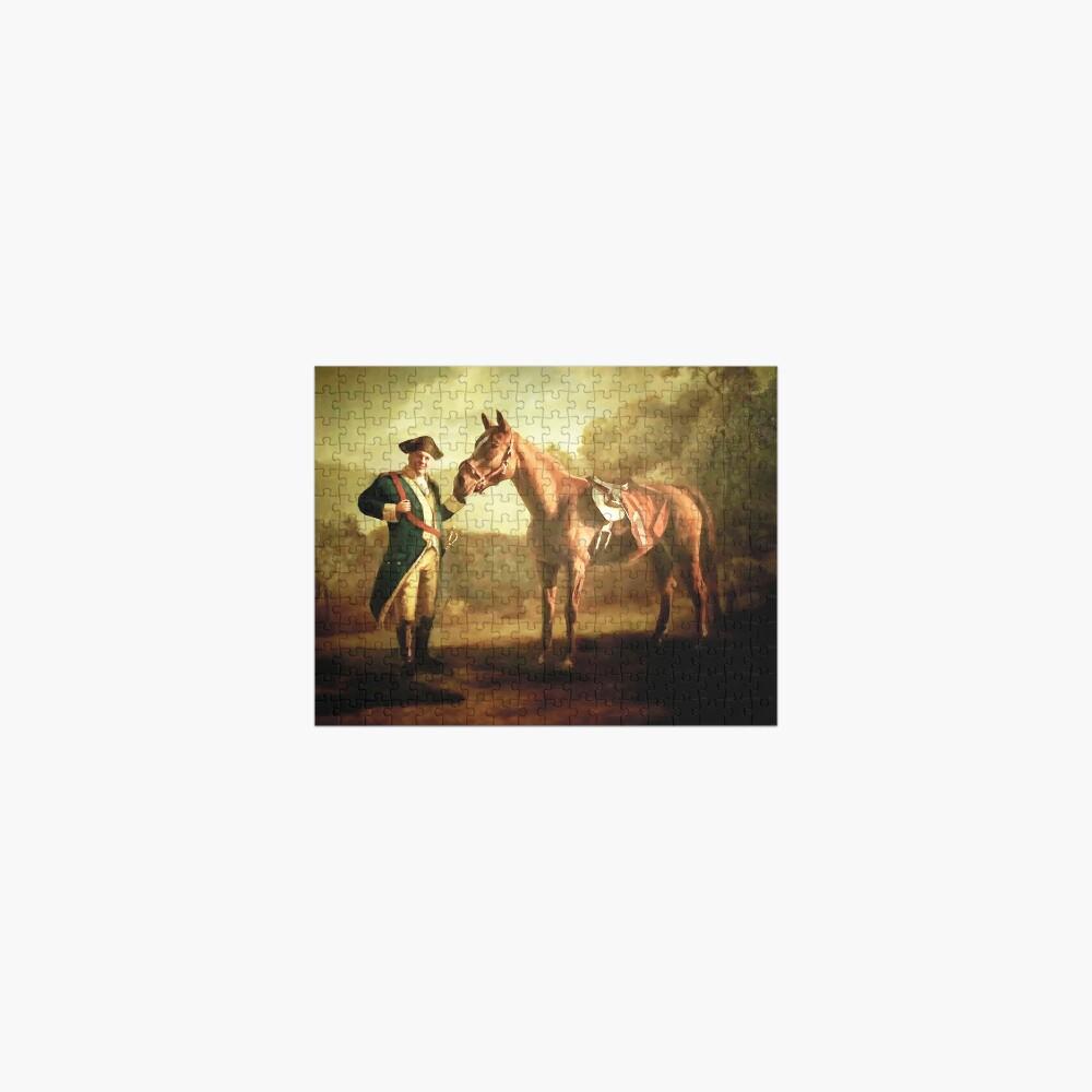 Tony Soprano Commendatore Horse Painting  Jigsaw Puzzle