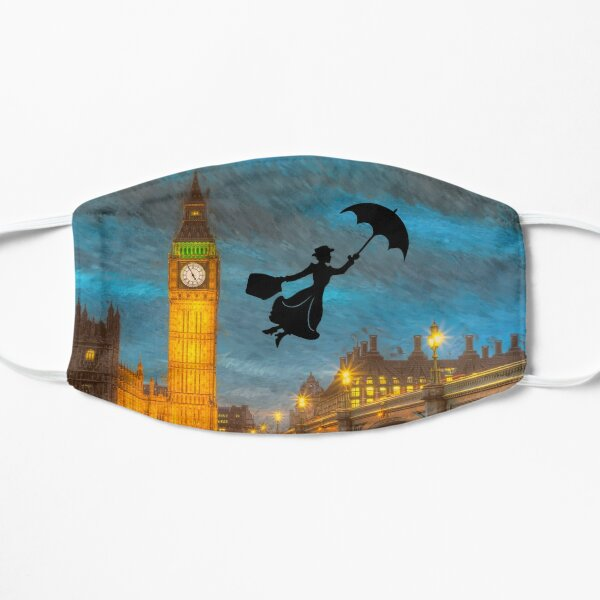 Magical Nanny Over London  Mask