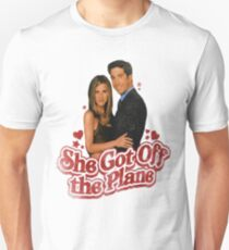 She Got Off The Plane T-Shirt
