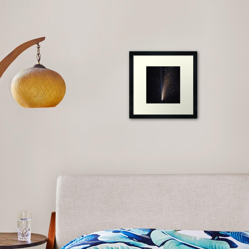Comet Neowise C/2020 F3 Framed Art Print