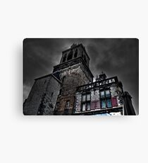 Haunted Mansion HDR Canvas Print